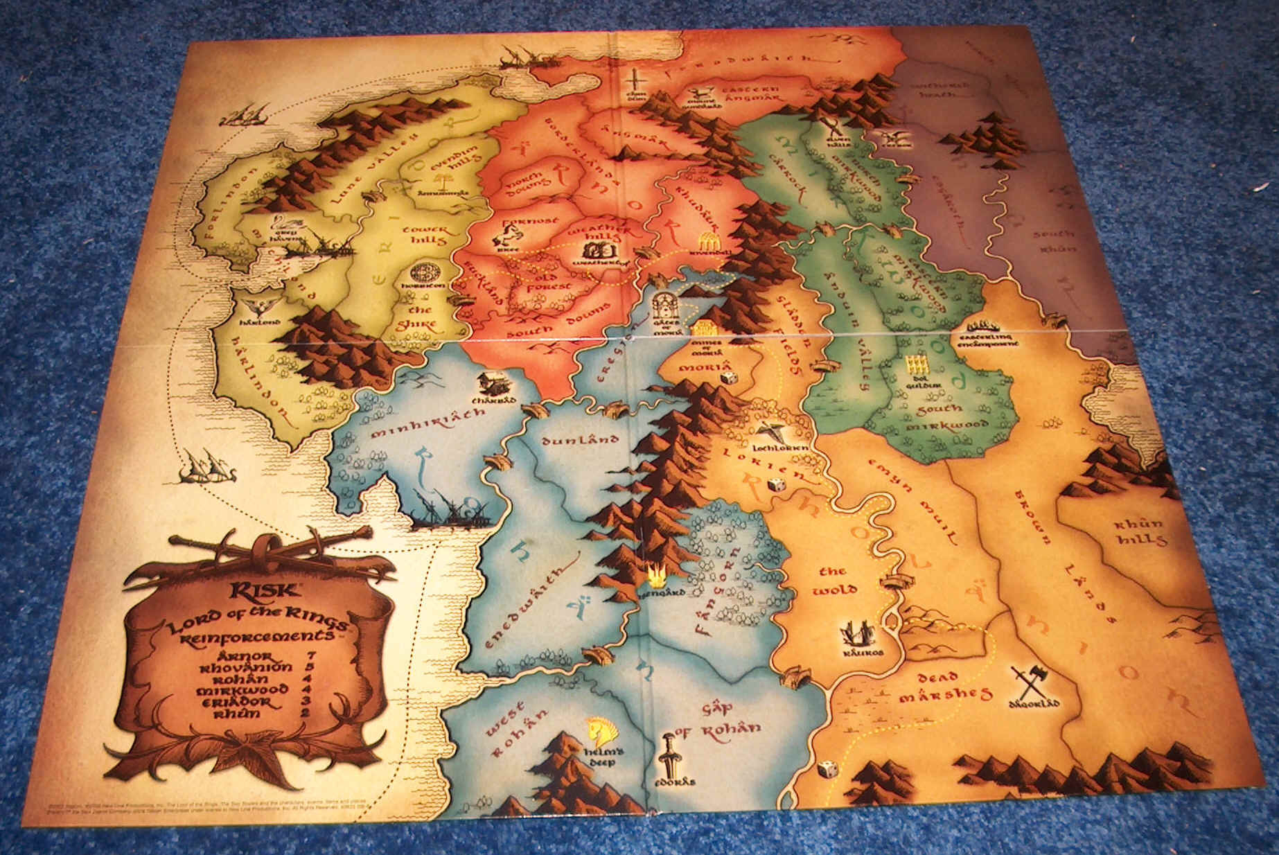 Lord Of The Rings Adventure Board Game