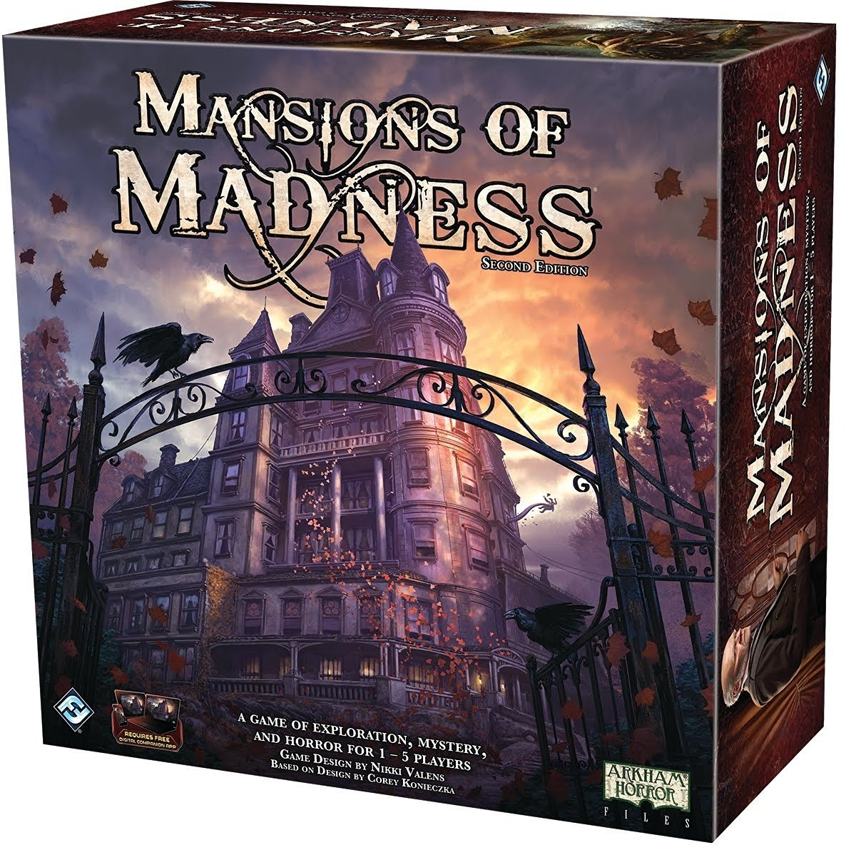 Reviewed By Chantal Noordeloos MANSIONS OF MADNESS: 2ND EDITION (Fantasy  Flight Games, 1 To 5 Players, Ages 13 And Up, 120 180 .